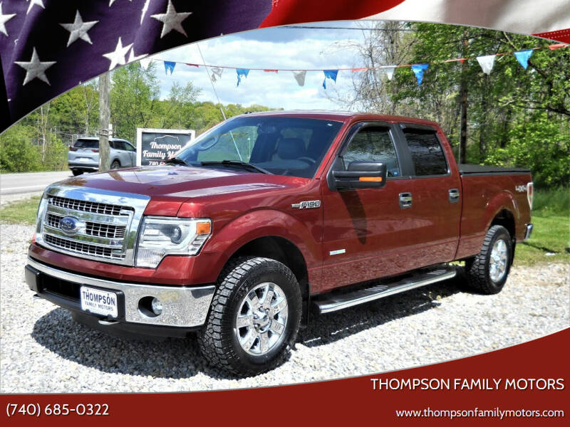 2014 Ford F-150 for sale at THOMPSON FAMILY MOTORS in Senecaville OH