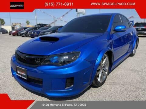 2013 Subaru Impreza for sale at SOUTHWEST AUTO GROUP-EL PASO in El Paso TX