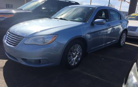 2013 Chrysler 200 for sale at Bobby Lafleur Auto Sales in Lake Charles LA