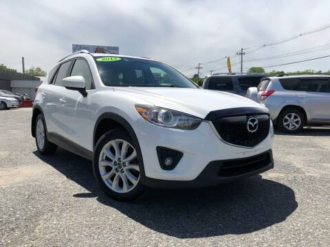 2013 Mazda CX-5 for sale at Mass Motors LLC in Worcester MA