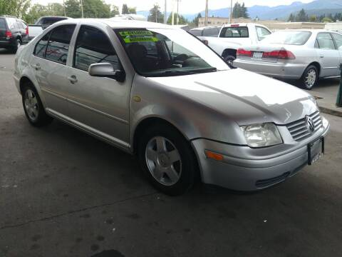 1999 Volkswagen Jetta for sale at Low Auto Sales in Sedro Woolley WA