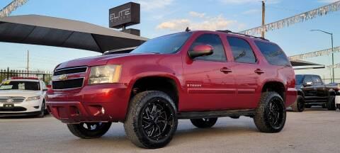2007 Chevrolet Tahoe for sale at Elite Motors in El Paso TX