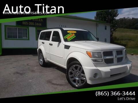 2007 Dodge Nitro for sale at Auto Titan in Knoxville TN
