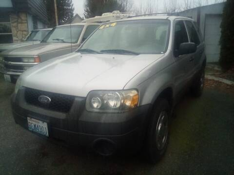 2006 Ford Escape for sale at Payless Car & Truck Sales in Mount Vernon WA