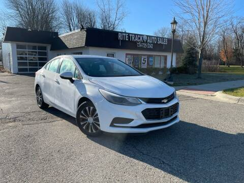 2018 Chevrolet Cruze for sale at Rite Track Auto Sales in Canton MI
