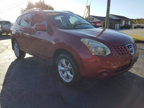 2008 Nissan Rogue for sale at Moores Auto Sales in Greeneville TN