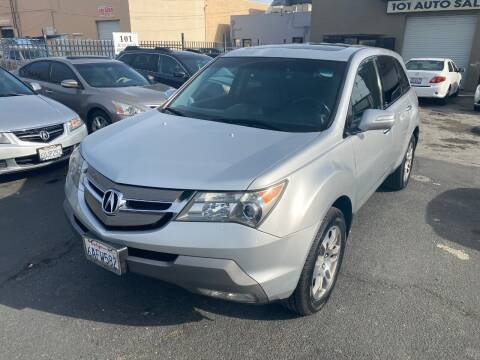 2007 Acura MDX for sale at 101 Auto Sales in Sacramento CA