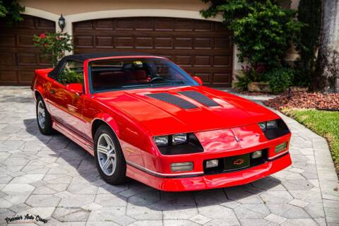 1990 Chevrolet Camaro for sale at Premier Auto Group of South Florida in Wellington FL