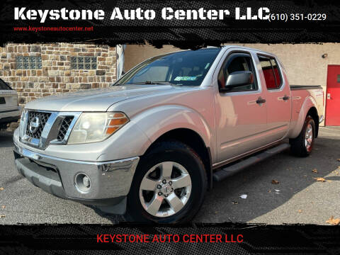 2010 Nissan Frontier for sale at Keystone Auto Center LLC in Allentown PA