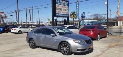 2013 Chrysler 200 for sale at S.A. BROADWAY MOTORS INC in San Antonio TX