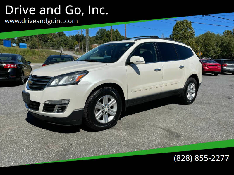 2013 Chevrolet Traverse for sale at Drive and Go, Inc. in Hickory NC