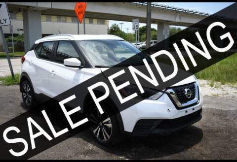 2019 Nissan Kicks for sale at ELITE MOTOR CARS OF MIAMI in Miami FL