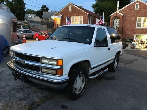 1996 Chevrolet Tahoe for sale at Kneezle Auto Sales in Saint Louis MO