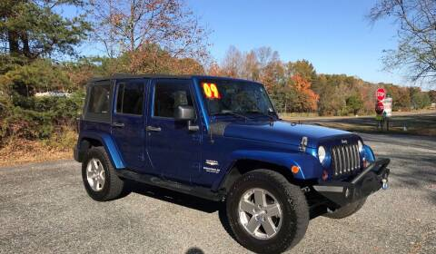 2009 Jeep Wrangler Unlimited for sale at 4Auto Sales, Inc. in Fredericksburg VA