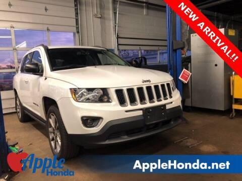 2016 Jeep Compass for sale at APPLE HONDA in Riverhead NY