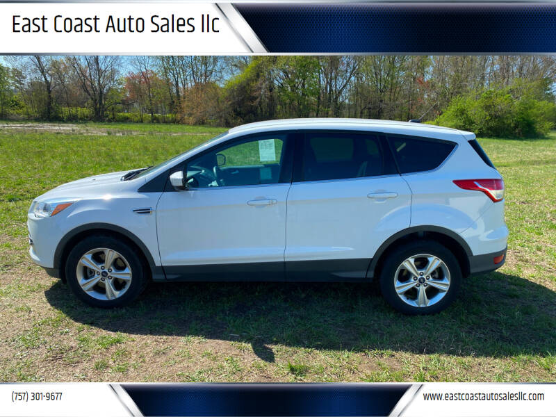 2015 Ford Escape for sale at East Coast Auto Sales llc in Virginia Beach VA