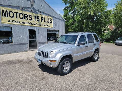 2002 Jeep Liberty for sale at Motors 75 Plus in Saint Cloud MN