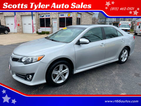 2012 Toyota Camry for sale at Scotts Tyler Auto Sales in Wilmington IL
