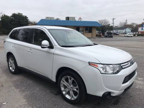 2014 Mitsubishi Outlander for sale at Cherry Motors in Greenville SC