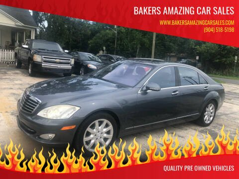 2007 Mercedes-Benz S-Class for sale at Bakers Amazing Car Sales in Jacksonville FL