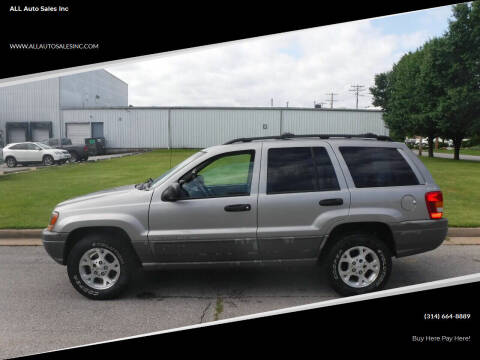 2000 Jeep Grand Cherokee for sale at ALL Auto Sales Inc in Saint Louis MO