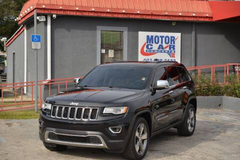 2015 Jeep Grand Cherokee for sale at Motor Car Concepts II - Kirkman Location in Orlando FL