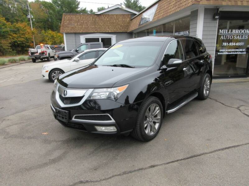 2010 Acura MDX for sale at Millbrook Auto Sales in Duxbury MA