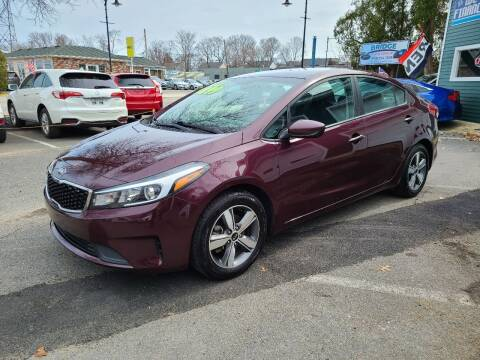 2018 Kia Forte for sale at Bridge Auto Group Corp in Salem MA