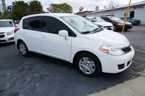 2012 Nissan Versa for sale at J Linn Motors in Clearwater FL