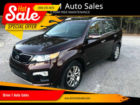 2012 Kia Sorento for sale at Drive 1 Auto Sales in Wake Forest NC