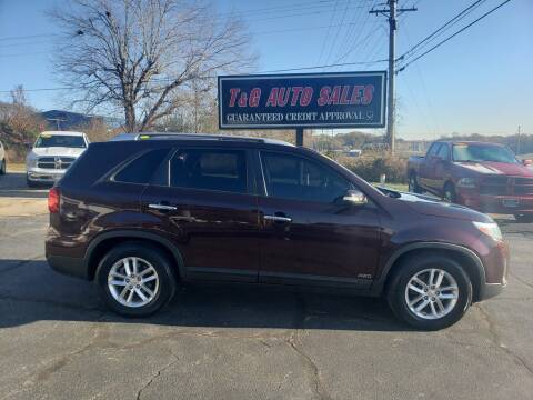 2014 Kia Sorento for sale at T & G Auto Sales in Florence AL