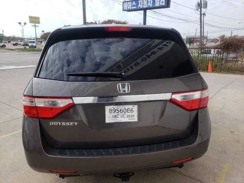 2012 Honda Odyssey EX-L 4dr Mini-Van w/Navi - Dallas TX