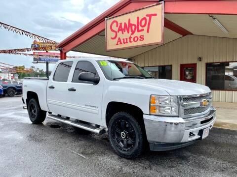 2013 Chevrolet Silverado 1500 for sale at Sandlot Autos in Tyler TX
