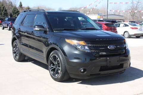 2015 Ford Explorer for sale at Sandusky Auto Sales in Sandusky MI