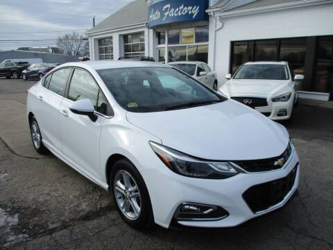 2016 Chevrolet Cruze for sale at AUTO FACTORY INC in East Providence RI