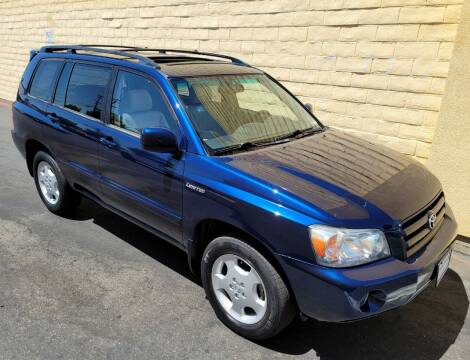 2004 Toyota Highlander for sale at Cars To Go in Sacramento CA