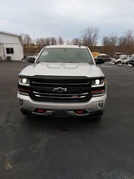 2018 Chevrolet Silverado 1500 for sale at DANSVILLE AUTO MART INC in Dansville NY