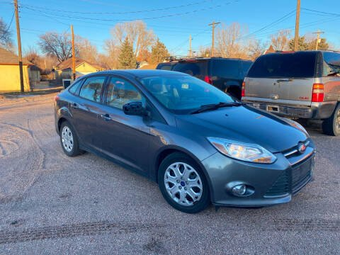 2012 Ford Focus for sale at PYRAMID MOTORS AUTO SALES in Florence CO