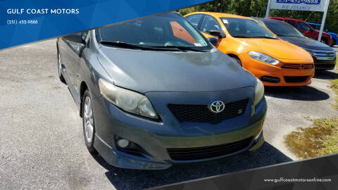 2010 Toyota Corolla Hatchback for sale at GULF COAST MOTORS in Mobile AL