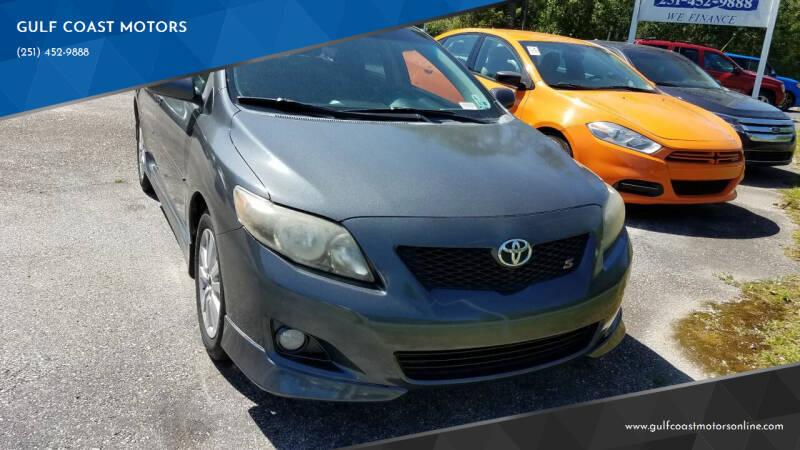 2010 Toyota Corolla Hatchback for sale at GULF COAST MOTORS in Mobile AL