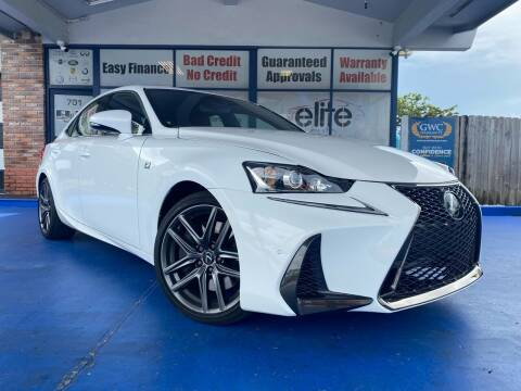 2020 Lexus IS 300 for sale at ELITE AUTO WORLD in Fort Lauderdale FL