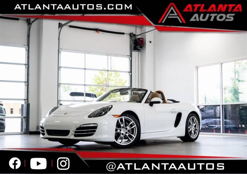 2014 Porsche Boxster for sale in Marietta, GA