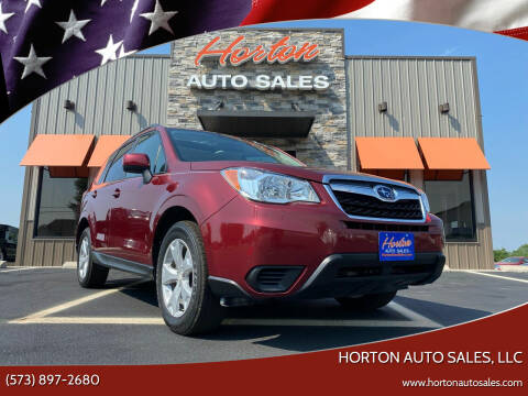 2016 Subaru Forester for sale at HORTON AUTO SALES, LLC in Linn MO