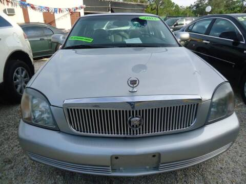 2005 Cadillac DeVille for sale at GENESIS AUTO SALES in Port Charlotte FL