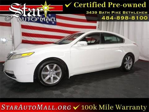 2012 Acura TL for sale at STAR AUTO MALL 512 in Bethlehem PA