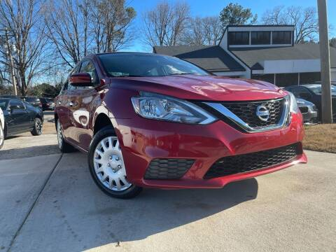 2016 Nissan Sentra for sale at Alpha Car Land LLC in Snellville GA