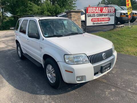 2005 Mercury Mariner for sale at Ibral Auto in Milford OH
