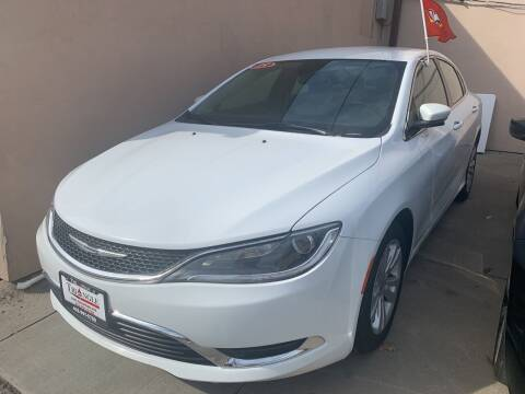 2015 Chrysler 200 for sale at Triangle Auto Sales in Omaha NE