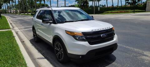 2013 Ford Explorer for sale at ADVANCE AUTOMALL in Doral FL