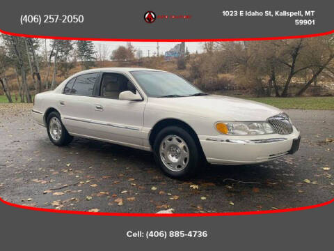 2001 Lincoln Continental for sale at Auto Solutions in Kalispell MT